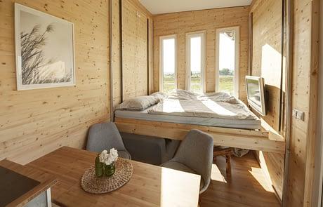 freiRAUM Tiny House Bett