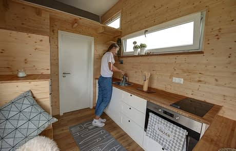 freiRAUM Tiny House Kueche