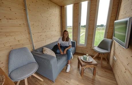 freiRAUM Tiny House Wohnzimmer