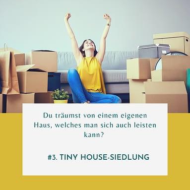 #3 Tiny House-Siedlung – Was genau ist das?